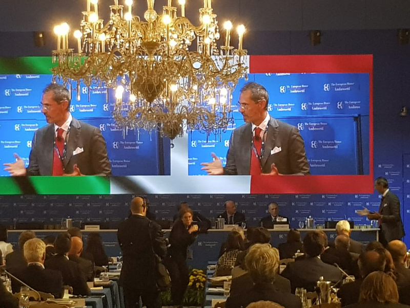 "ASTL takes part in the 45th edition of the Cernobbio Forum, organized by ""The European House - Ambrosetti"